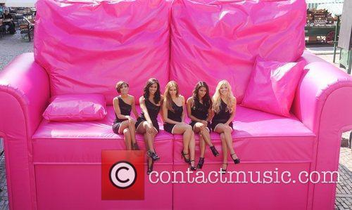 Frankie Sandford, Mollie King, Una Healy, Vanessa White and Rochelle Wiseman 3