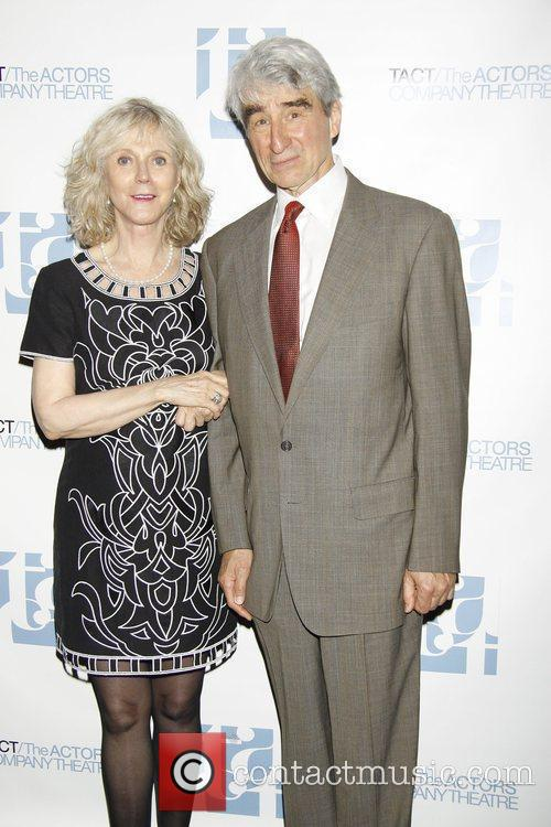 Blythe Danner and Sam Waterston  attending the...