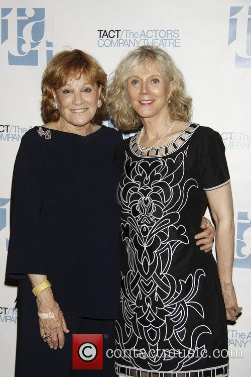 Cynthia Harris and Blythe Danner attending the 2010...