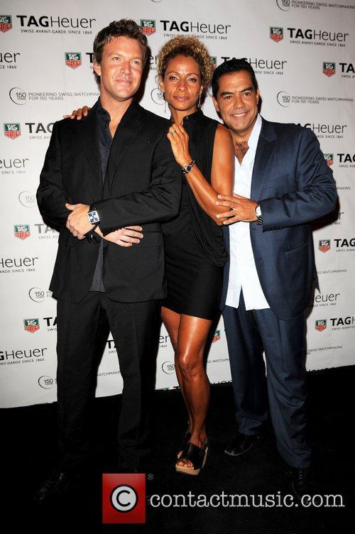 Matt Passmore, Michelle Hurd and Carlos Gomez TAG...