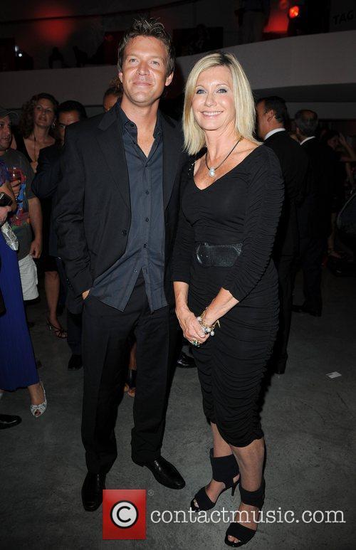 Matt Passmore and Olivia Newton-John TAG Heuer 150th...