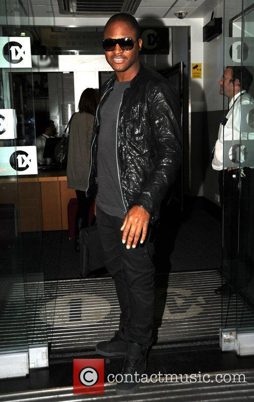 Taio Cruz at Radio One
