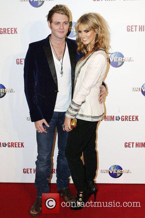 Brian McFadden and Delta Goodrem Premiere of 'Get...