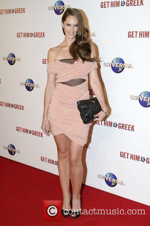 Nikki Phillips Premiere of 'Get Him to the...
