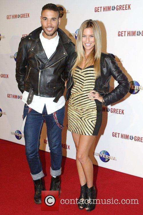 Renee Bargh and Kyle Linehan Premiere of 'Get...