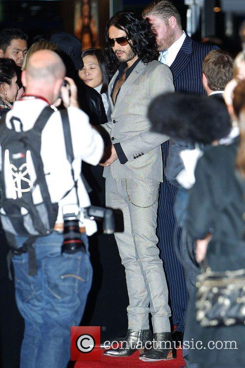 Russell Brand Premiere of 'Get Him to the...