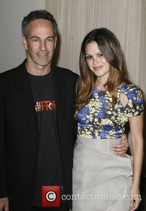 Rachel Bilson and father Danny Bilson THQ and...