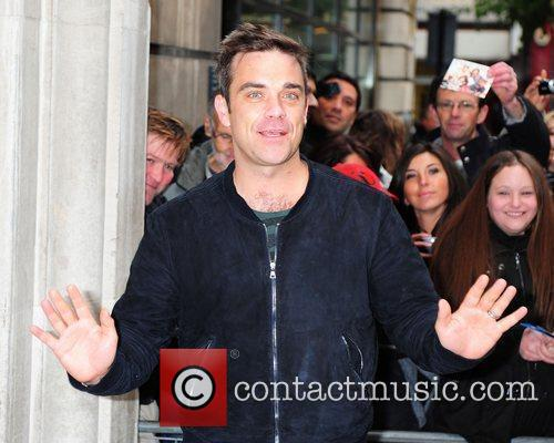 Take That at the BBC Radio One studios