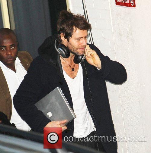 Howard Donald Take That arrive at 'The X...