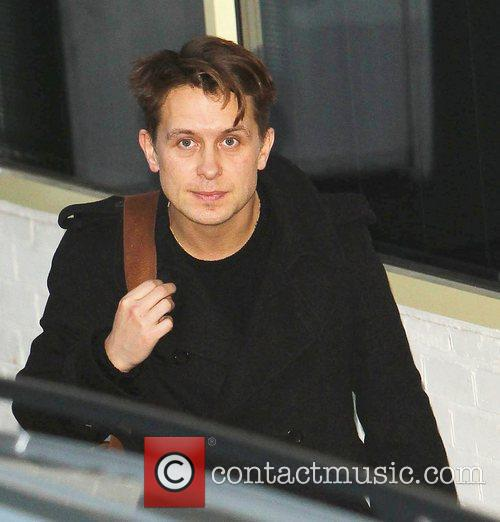 Mark Owen Take That arrive at 'The X...