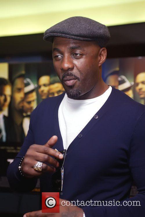 Idris Elba Screening of 'Takers' held at the...