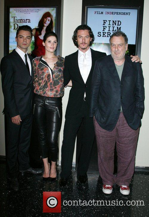 Dominic Cooper, Gemma Arterton, Luke Evans and Director...