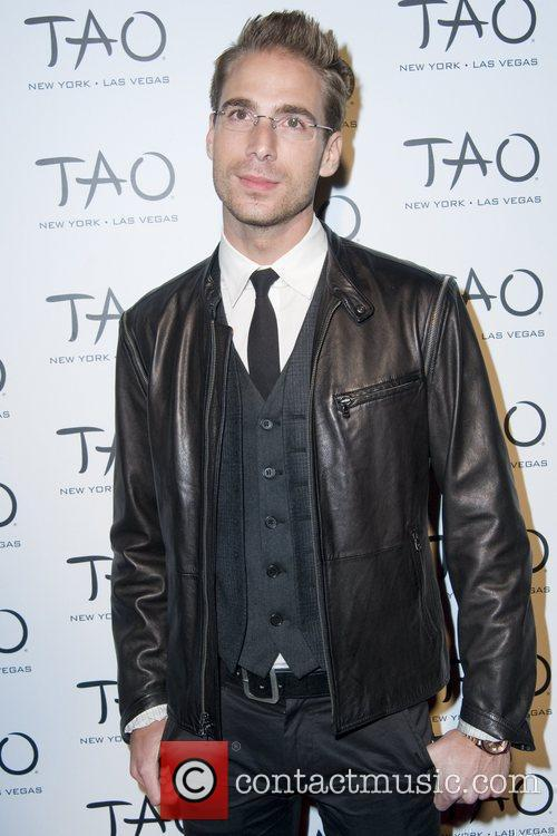 Simon Huck attend the 10th anniversary party of...