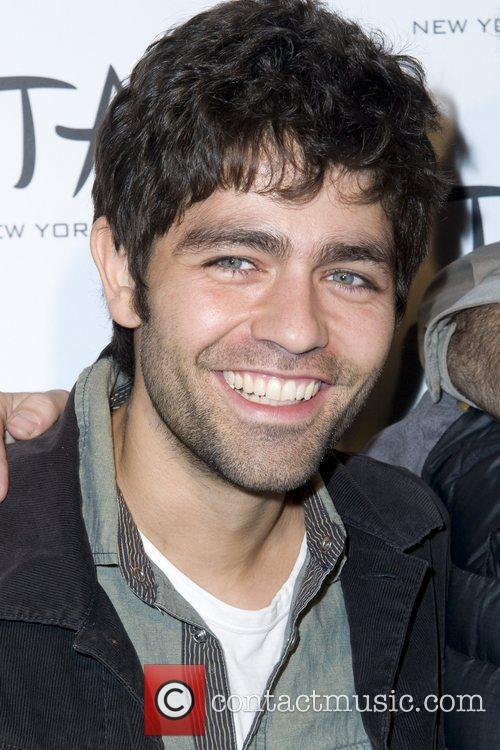 Adrian Grenier attend the 10th anniversary party of...