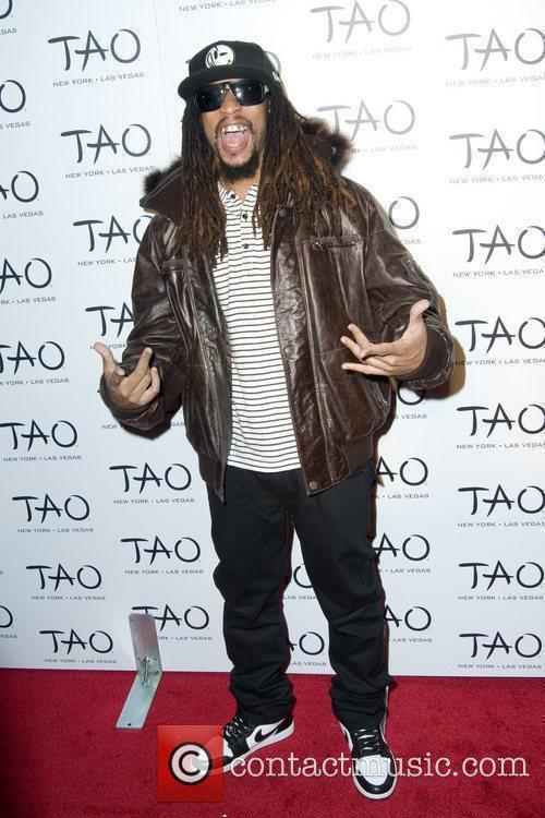 Lil Jon attend the 10th anniversary party of...