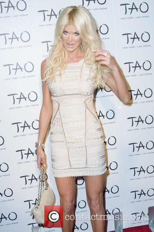 Victoria Silvstedt attend the 10th anniversary party of...