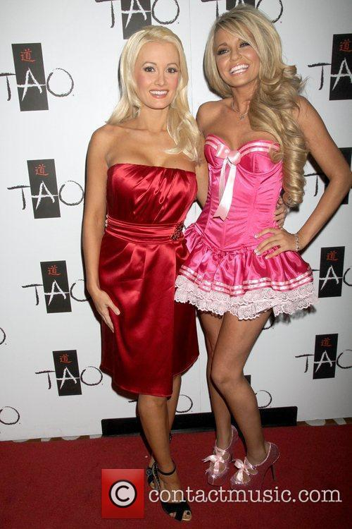Holly Madison and Angel Porrino  Angel Porrino...