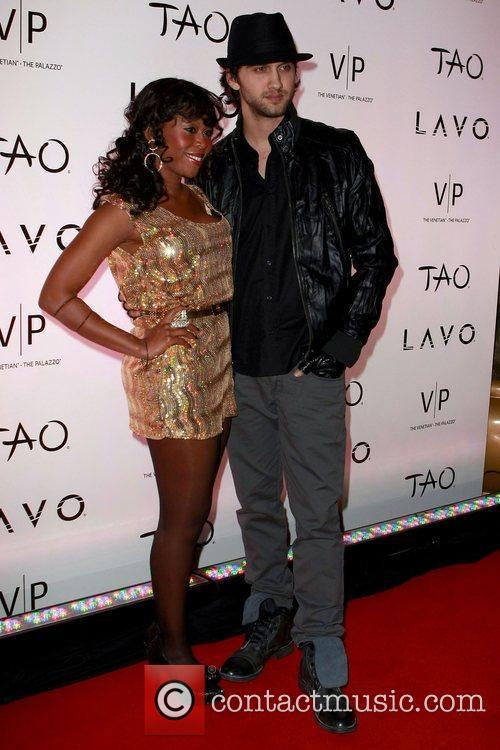 Michael Steger and guest TAO at The Venetian...