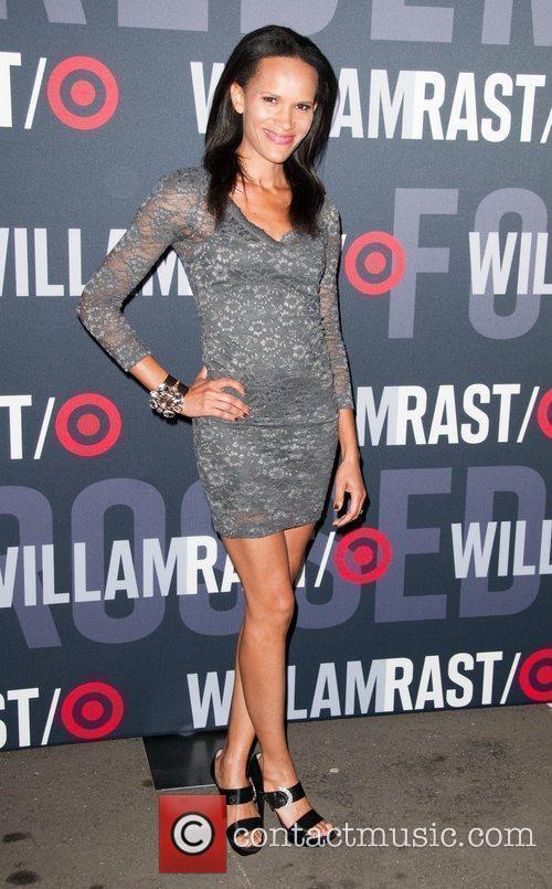 Amanda Lutrell Garrigus Target and William Rast celebrate...