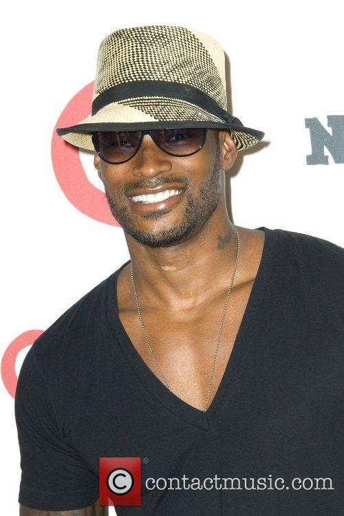 Tyson Beckford  Party to celebrate the launch...