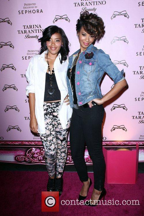 Angela Simmons and Vanessa Simmons The Launch Of...