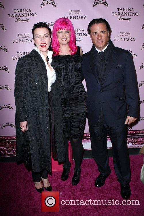 Debi Mazar, Tarina Tarantino and Andy Garcia The...