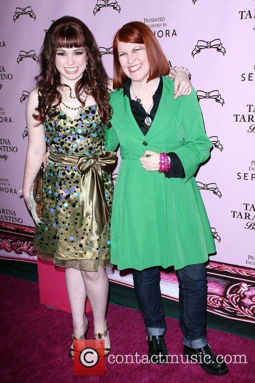 Jennifer Stone and Kate Flannery The Launch Of...