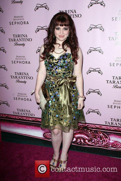 Jennifer Stone The Launch Of Tarina Tarantino Beauty...