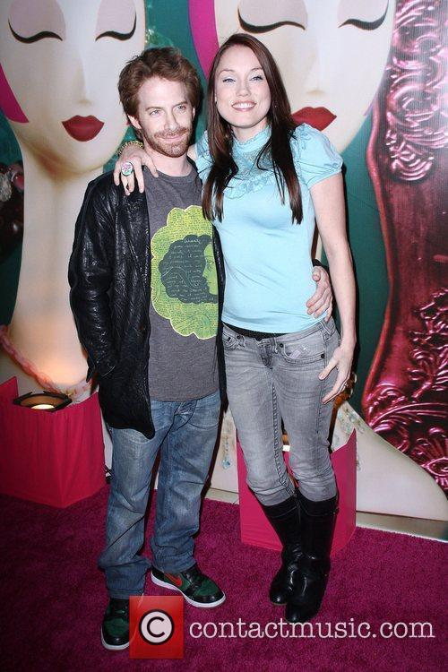 Seth Green and Clare Grant The Launch Of...