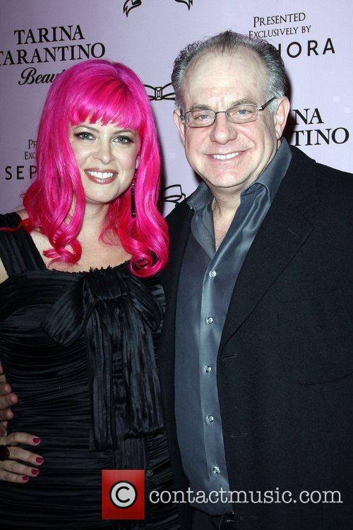 Tarina Tarantino and Sephora CEO David Suliteanu The...