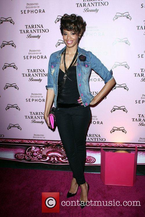 Vanessa Simmons The Launch Of Tarina Tarantino Beauty...