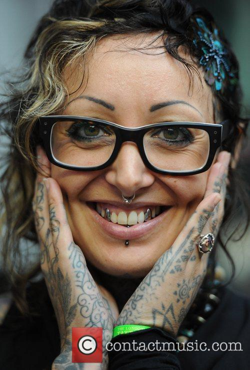 Atmosphere International London Tattoo Convention held at the...