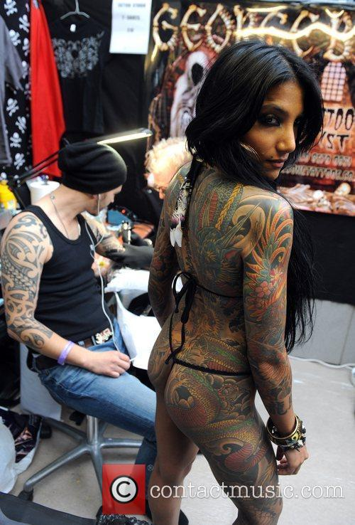 International London Tattoo Convention held at the Tobacco...