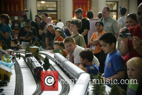 Amtrak's Third Annual 'National Train Day' celebrating the...