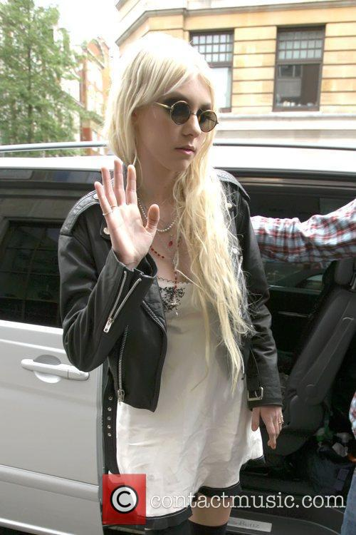 Arriving at the BBC Radio One studios