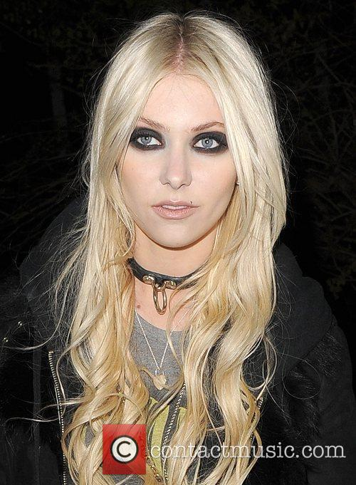 Taylor Momsen leaving a private residence, after spending...