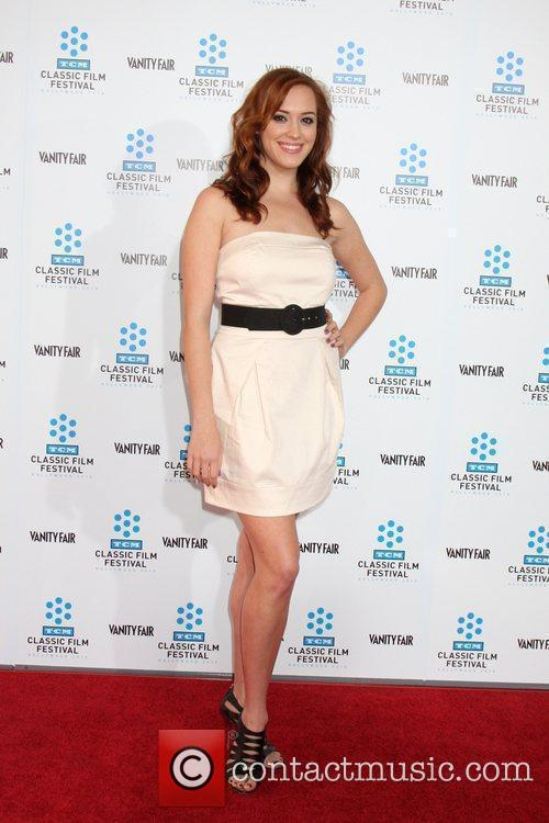 Andrea Bowen TCM Classic Film Festival opening night...