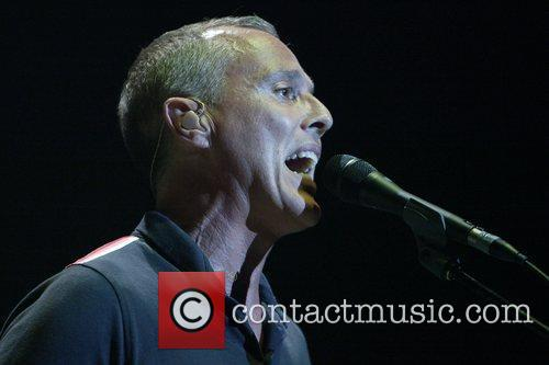 Curt Smith Tears For Fears performing live in...