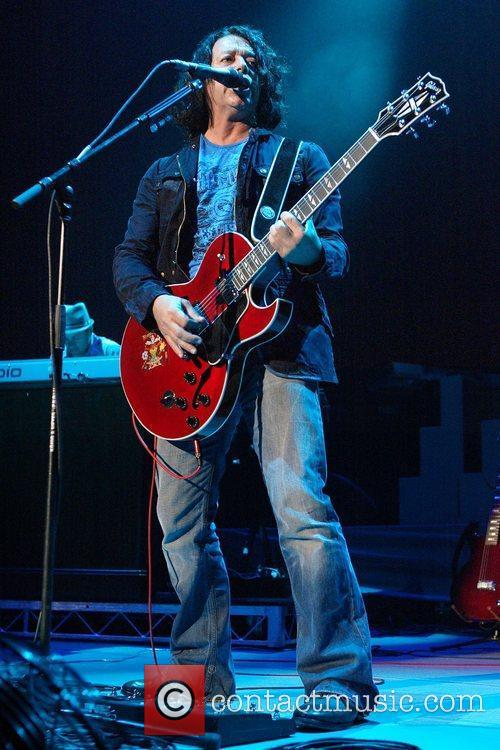 Roland Orzabal Tears For Fears performing live in...