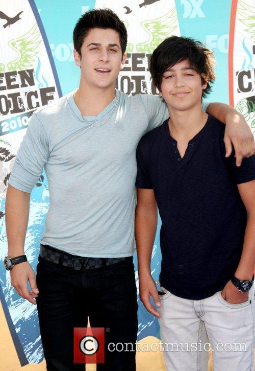 David Henrie and guest The 12th Annual Teen...