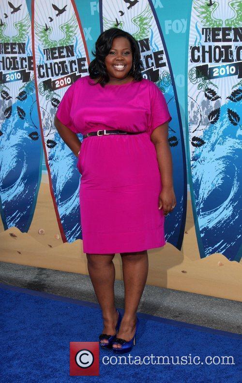 Amber Riley and Teen Choice Awards