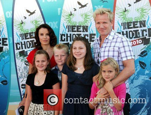 Gordon Ramsay, Tana Ramsay and Teen Choice Awards