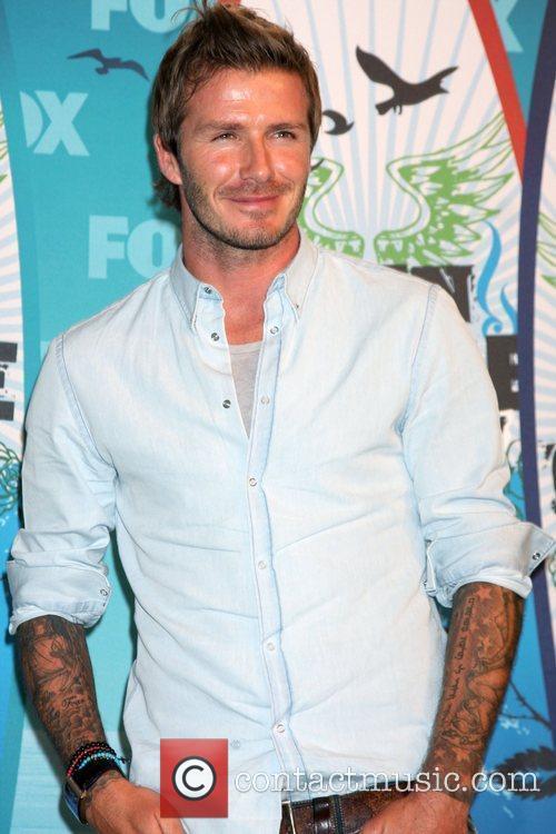 David Beckham  The 12th Annual Teen Choice...
