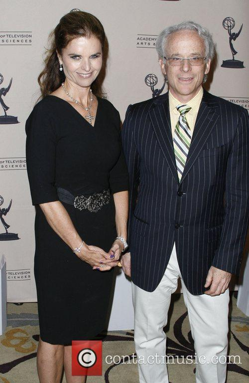 Maria Shriver and John Hoffman The Academy of...