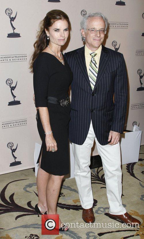 Maria Shriver and John Hoffman