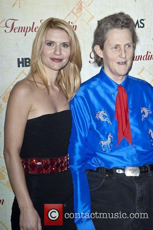 Claire Danes and Dr. Temple Grandin HBO Films...