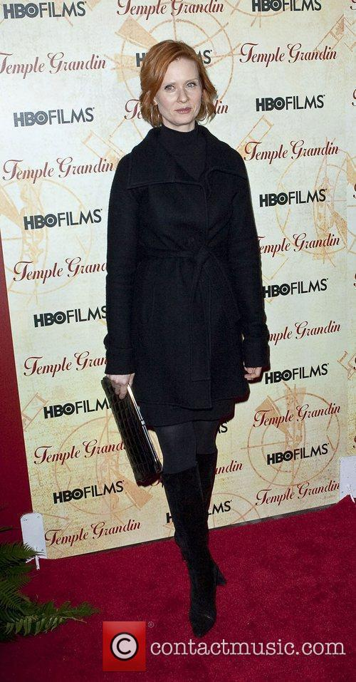Cynthia Nixon HBO Films 'Temple Grandin' Screening held...