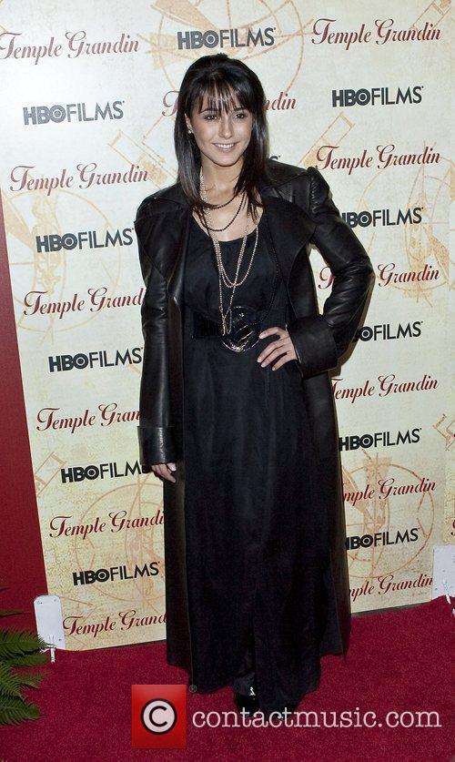Emmanuelle Chriqui HBO Films 'Temple Grandin' Screening held...