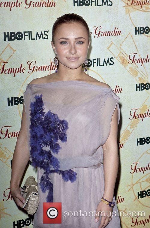 Hayden Panettiere HBO Films 'Temple Grandin' Screening held...