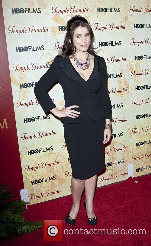 Julia Ormond HBO Films 'Temple Grandin' Screening held...